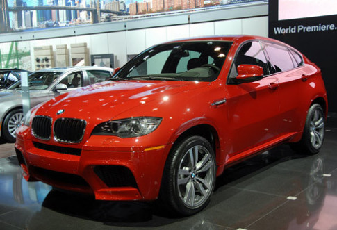 BMW ra mat X6M