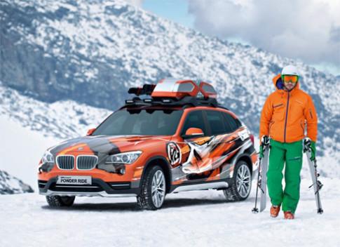 BMW trinh lang bo doi X1 dac biet