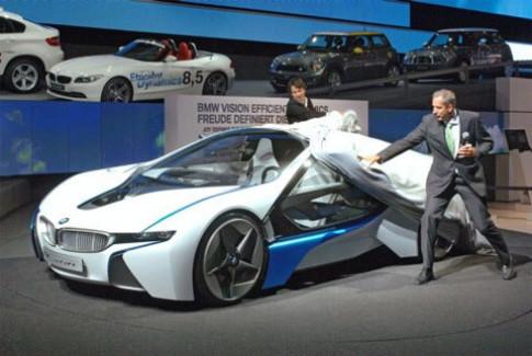 BMW Vision EfficientDynamics trinh dien tai Duc