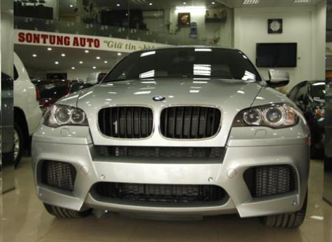 BMW X6 M xuat hien tai Ha Noi