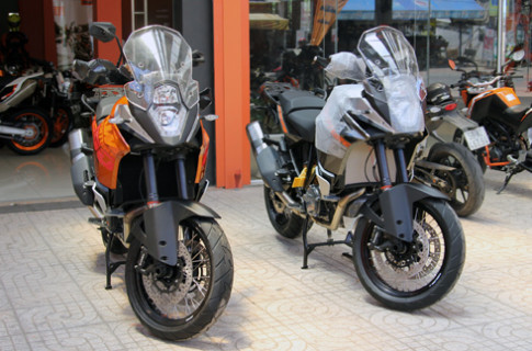 Bo doi KTM 1190 Advanture 2014 ve Viet Nam