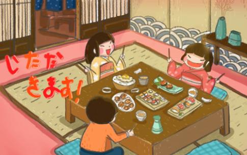 Bộ tranh hé mở những điều kỳ diệu về ẩm thực Nhật bản