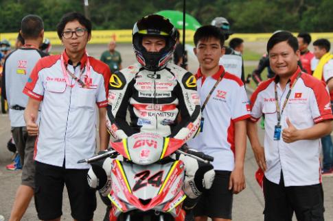 Chang dau tien mua giai ARRC 2017