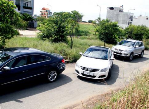 Chi tiet Volkswagen coupe 4 cua o Sai Gon
