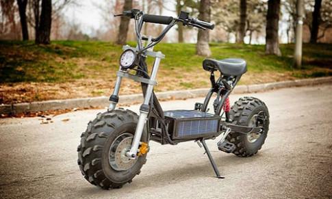 Daymak Beast - scooter off-road dùng năng lượng mặt trời