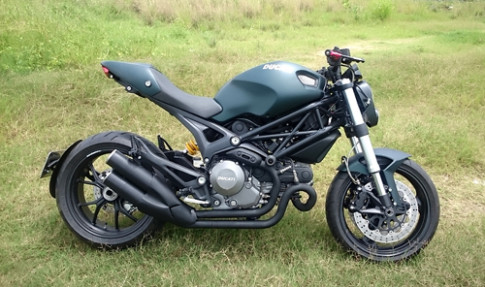 Ducati Monster 795 doc cua nguoi Hai Phong