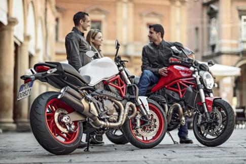 Ducati ra mat Monster 821 gia tu 11.000 USD