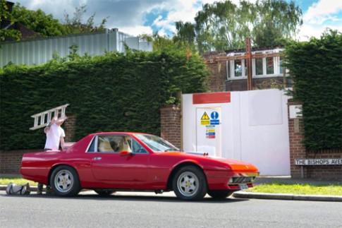 Ferrari 412 độ thành bán tải