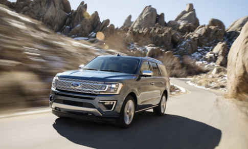 Ford Expedition 2018 - dan anh Explorer trinh lang