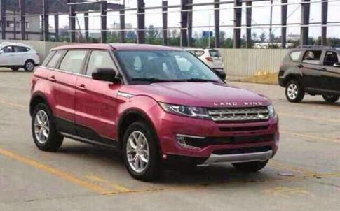 Hang nhai giong het Range Rover Evoque tai Trung Quoc