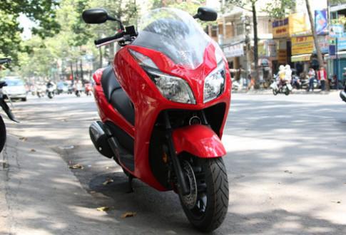 Honda Forza 2014 cap cang Sai Gon