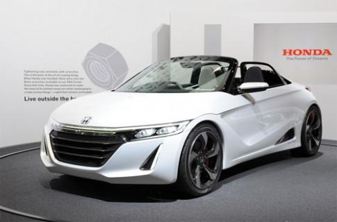 Honda S660 - xe thể thao mới cho 2015