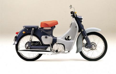 Honda Super Cub dat moc 87 trieu chiec
