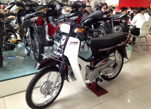 Honda Super Dream 100 gia gan 30 trieu
