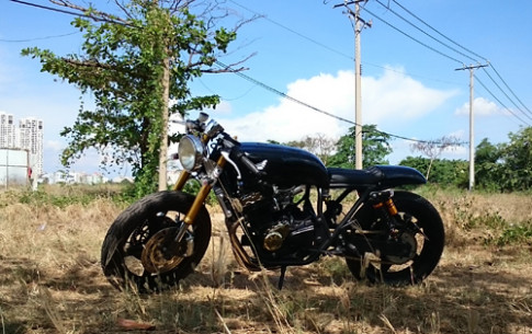 Honda Super Four cafe racer tai Sai Gon