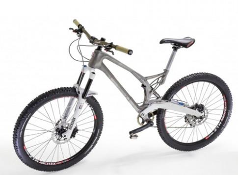 Khung xe đạp bằng titan đúc 3D