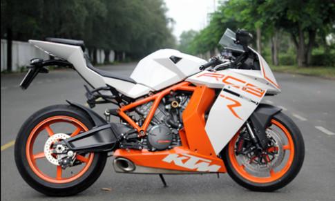 KTM RC8R 1190 - sieu moto dua hang hiem o Viet Nam