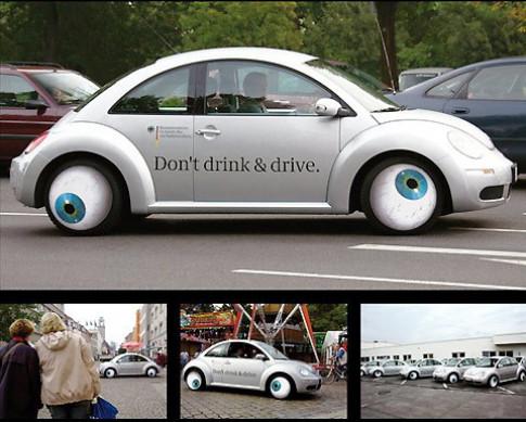 La lam 'con bo' Volkswagen Beetle