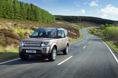 Land Rover Discovery XXV phien ban dac biet