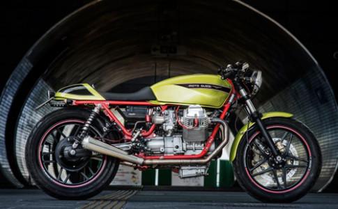 Moto Guzzi V65 - xe no cho tin do mau sac