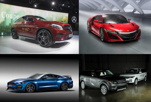 Ngắm dàn siêu xe tương lai tại triển lãm Detroit Auto Show 2015 (P.2)