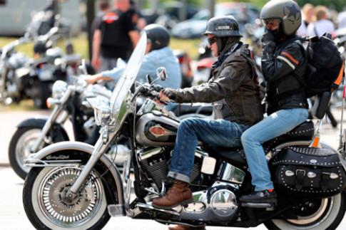 Ngay hoi Harley-Davidson cua nguoi Duc