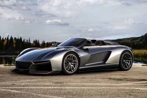 Rezvani Beast - siêu xe đua trên phố