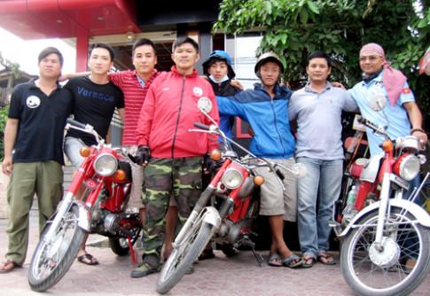 Rong ruổi Sài Gòn - Hà Nội với Honda 67