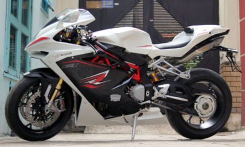 Sieu moto MV Agusta F4 RR 2014 duy nhat tai Viet Nam