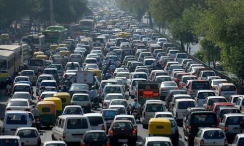 Trung Quốc mất không 9 ngày mỗi năm vì tắc đường