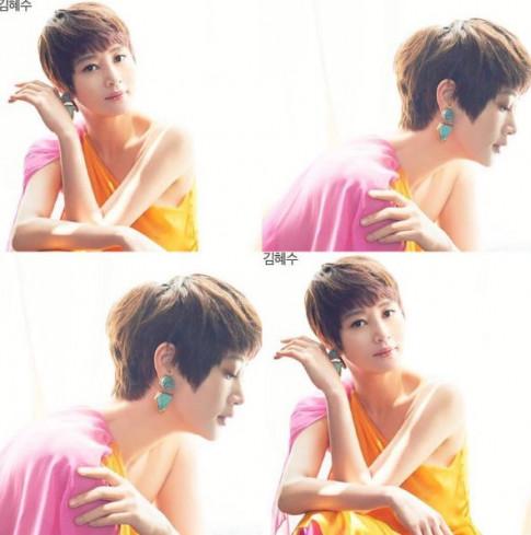 U50 nhưng Kim Hye Soo chưa để ai soán ngôi nữ hoàng gợi cảm xứ Hàn