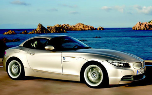 Ve dep cua BMW Z4 mui tran the he moi