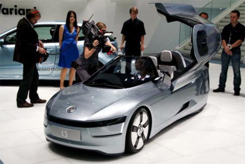 Volkswagen mang concept lap di toi Los Angeles