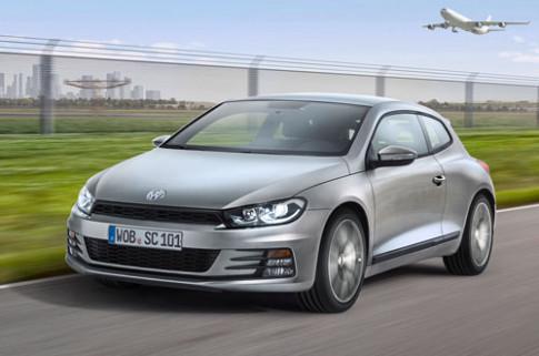 Volkswagen nang cap Scirocco