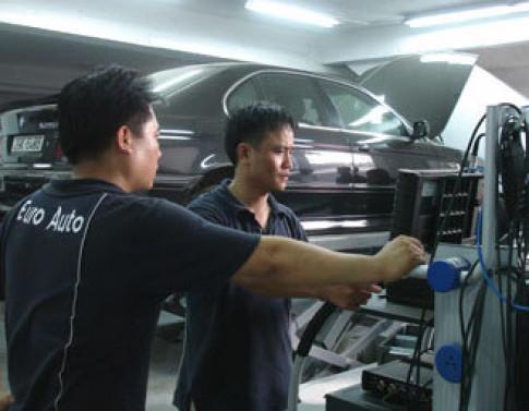Xe BMW khong chinh hang cung co the duoc bao hanh