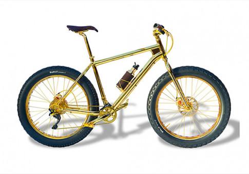 Xe đạp bằng vàng giá 1 triệu USD