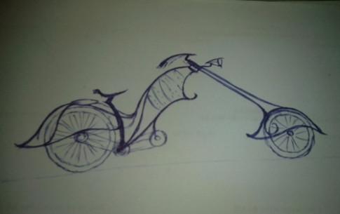 Xe đạp điện tự chế lạ mắt của thợ cơ khí Nam Định