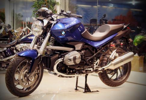 'Xe khung' BMW R1200R 2012 dau tien tai Viet Nam