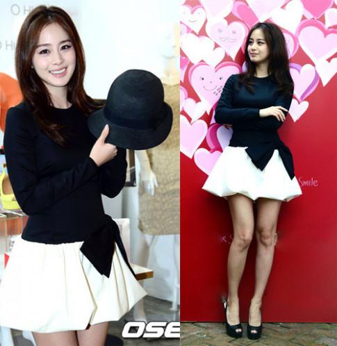 Bi quyet thoi trang de Kim Tae Hee tre nhu 18 khi da gan 40