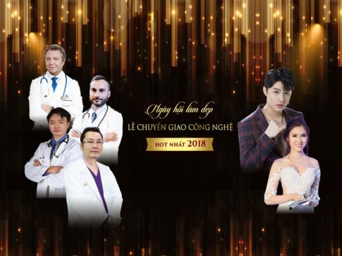 Ca sĩ Noo Phước Thịnh tham gia ngày hội làm đẹp lớn nhất 2017 tại Dr.Hải Lê