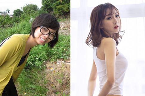 Cô gái 9x Hà Nội khiến ai cũng ngỡ ngàng vì diện mạo xinh đẹp sau thẩm mỹ