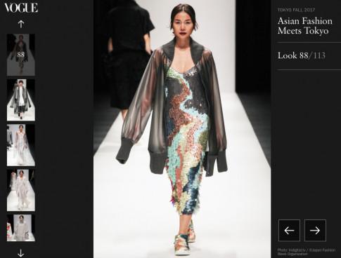 Công Trí là NTK Việt Nam đầu tiên có BST xuất hiện trên Vogue Mỹ
