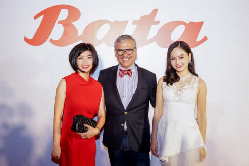 Dan chan dai Vietnam Next Top Model toa sang tai Bata Fashion Show 2017