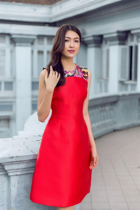 Đón thu rực rỡ với loạt váy đẹp miễn chê của Á hậu Lệ Hằng