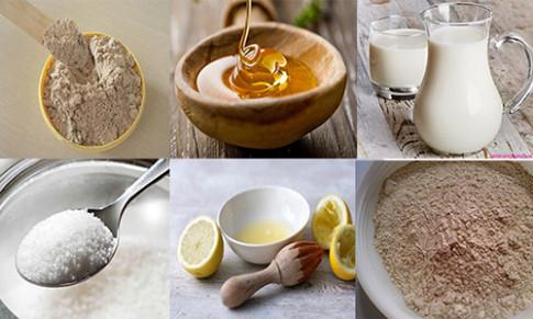 Dùng cám gạo trộn với bột đậu đỏ bạn sẽ có làn da trắng bừng như mơ ước