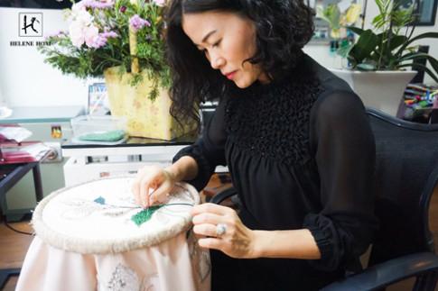 Hoa tiet theu - xu huong lam khuynh dao phai dep nam 2017