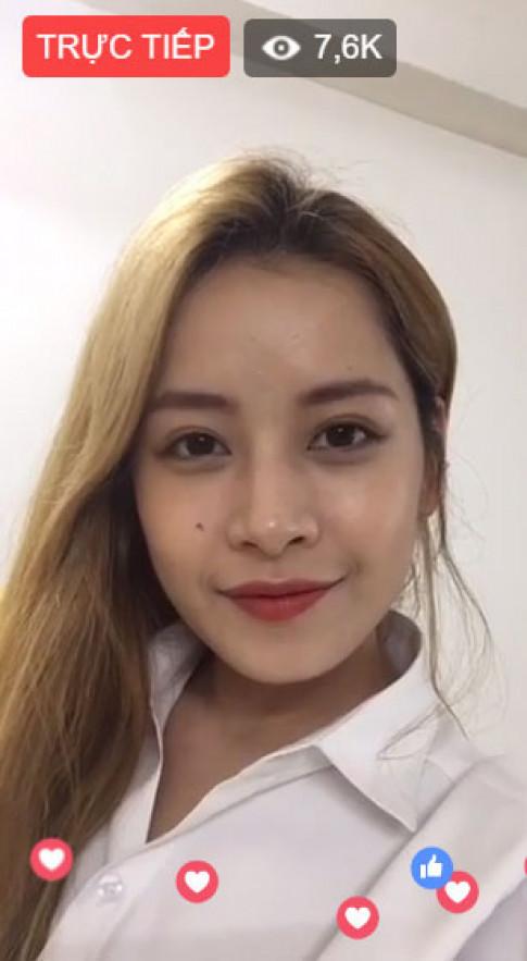 Livestream chia sẻ bí kíp làm đẹp, Chi Pu nhận hàng trăm nghìn like