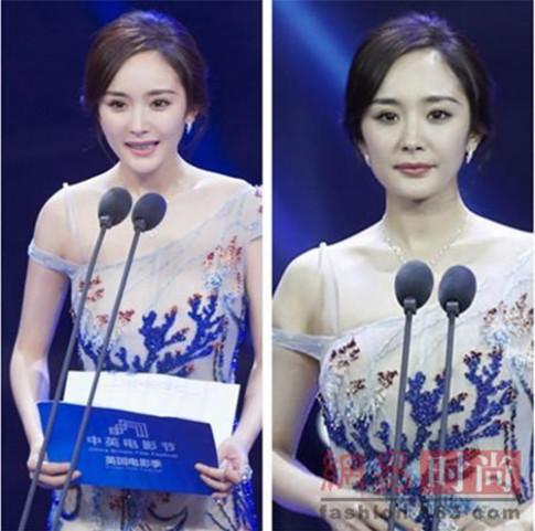 Loạt ảnh chứng minh ngay cả những mỹ nhân Hoa ngữ cũng kém sắc khi không có photoshop