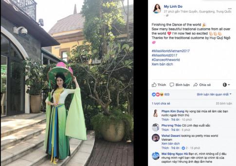 Miss World 2017: Do My Linh da chinh thuc buoc vao tran dau gianh vuong mien Hoa hau