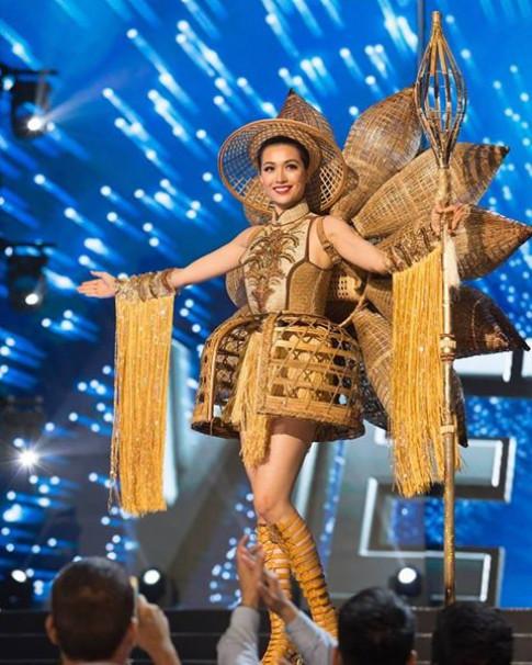 Thì ra đây chính là nguồn cảm hứng cho trang phục dân tộc của Lệ Hằng tại HH Hoàn vũ